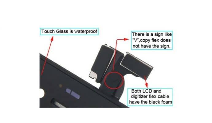 Original VS Copy iPhone Screens