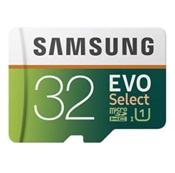 MicroSD Samsung Evo 32GB